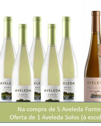 Aveleda Fonte Branco com Oferta de Aveleda Solos